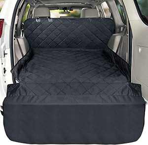 Cargo Liner, Veckle Large SUV Cargo Liner for Dogs Waterproof Dog Seat Cover SUV Cargo Cover Nonslip Mat Scratchproof Pet Cargo Protector for SUVs Sedans Vans