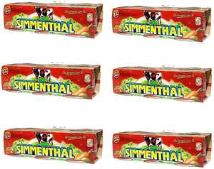 6X SIMMENTHAL Beef in Jelly 3X 90g 100% Italian Meat in tin