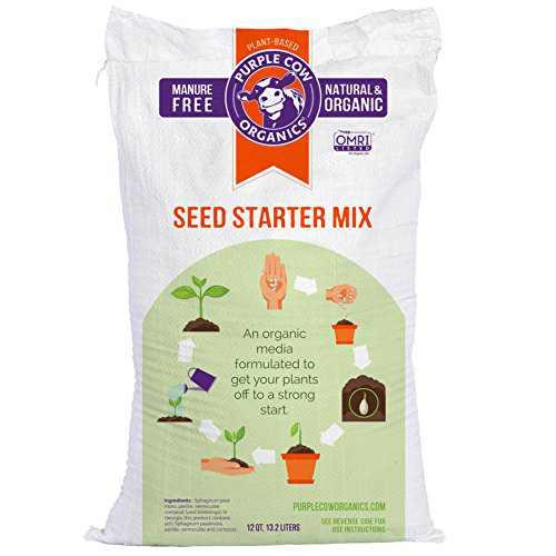 Purple Cow Organics Seed Starter Mix, 12 QT Bag