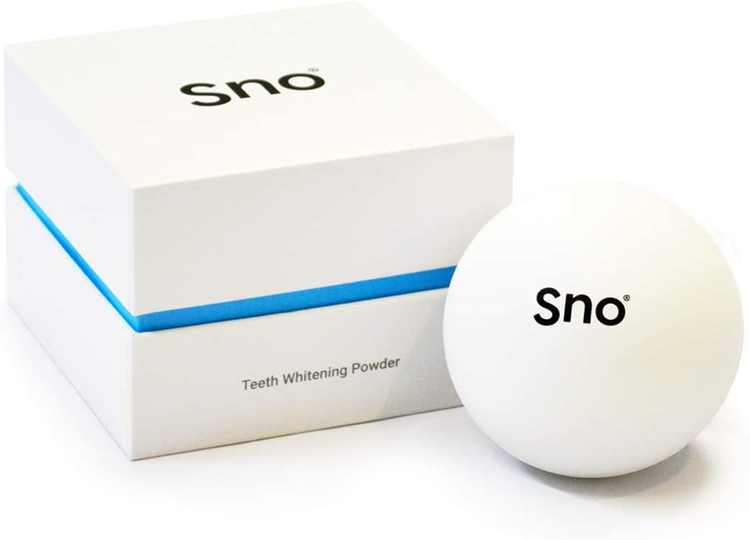 Sno Hybrid Teeth Whitening Powder | with Activated Charcoal | Whitens Teeth | Removes Plaque and Lifts Stains | 97% Natural | Ice Mint Flavour
