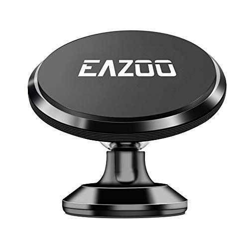 Squish Magnetic Car Phone Mount, Phone Holder for Car, Magnetic Phone Car Mounts (Black)