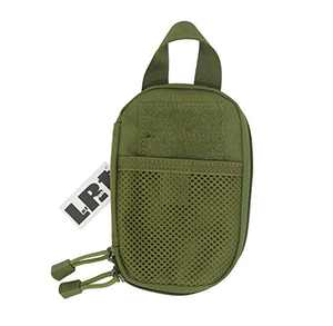 LefRight Camo Mini Tactical Molle EDC Compact Pocket Organizer Pouch (Olive Drab)
