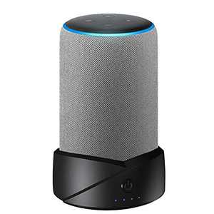 Caramote Portable Battery Base for Amazon Echo (3rd Gen) and Echo Plus(2nd Generation), Battery Base Makes Them Portable,Not for Echo (2nd Generation) and Echo Plus(1st Generation)