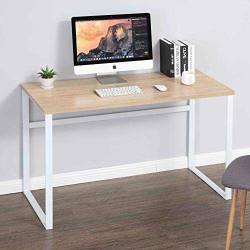 "HOMURY Computer Desk for Home Office, 44"" Writing Table for Small Space, BCD112002MW"