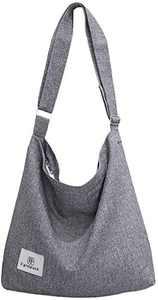 Canvas Purse, Fanspack Crossbody Bags for Women Canvas Tote Bag for Women Shoulder Bags Hobo Handbag Hobo Purses