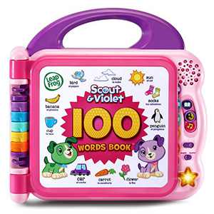 LeapFrog Scout and Violet 100 Words Book (Amazon Exclusive), Purple
