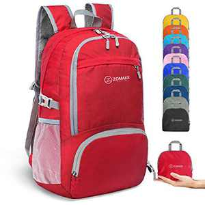ZOMAKE Lightweight Hiking Backpack, 30L Water Resistant Packable Daypack Backpack for Women Men