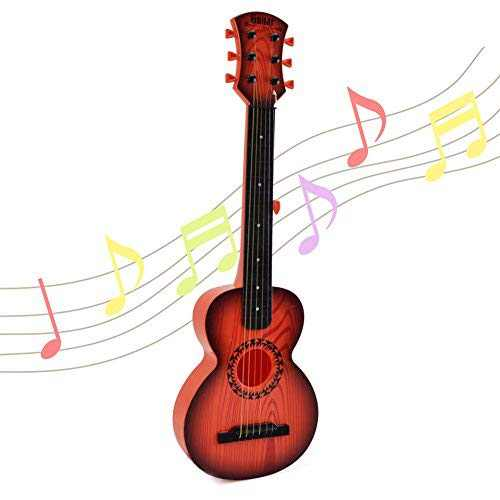 Happytime 26 Inch Kids Emulational Guitar Musical Toys Guitar with 6 Strings Musical Instruments Educational Toys for Kids Children Adults