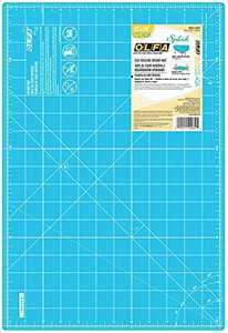 "OLFA Aqua 12"" x 18"" Double Sided Rotary Mat, 12x18"