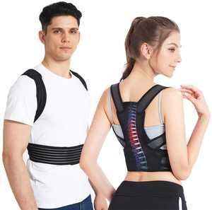 Slimerence, Adjustable Posture Corrector Back Shoulder Lumbar Waist Support Belt for Men and Women - Comfortable and Discreet, Pain Relief, Improve Posture XL