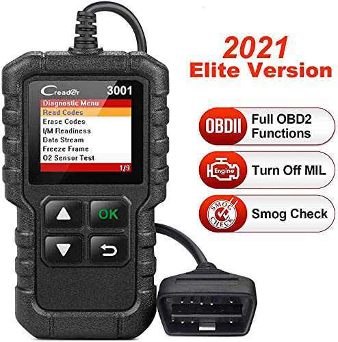 LAUNCH Creader 3001 OBD2 Scanner Automotive Car Diagnostic Check Engine Light O2 Sensor Systems OBD Code Readers Scan Tool