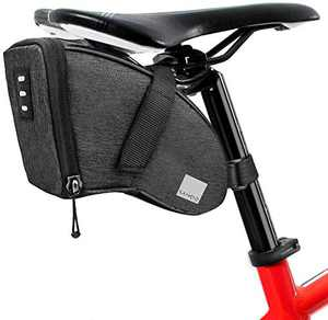 Number-One 1.5L Bicycle Strap-On Saddle Bag Bike Seat Pack Wedge Pack Under Seat Bag for Cycling