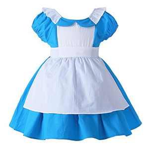 JiaDuo Little Girls Princess Dress Up Cotton Halloween Party Costumes 3-4T