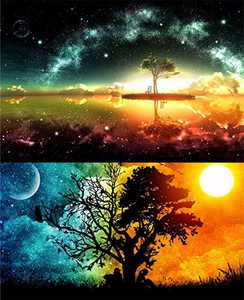 2 Pack DIY 5D Diamond Painting Set, Full Round Drill Starry Cross Painting 5D Decorating Wall Stickers Decorating Cross Stitch Craft Painting Starry for Living Room