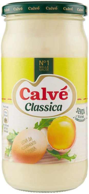 3X Calve Calvè Classic Mayonnaise Mayo Classic Fries Table Sauces Sauce Glass 500ml