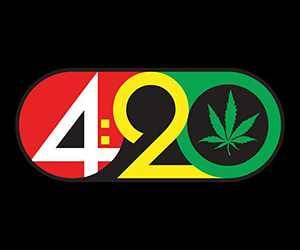 """420 Weed Cannabis Fleece Throw Blanket 50"""" x 60"""""""