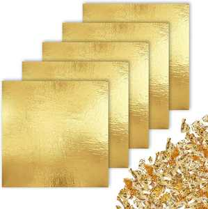 """CZ Store Gold Leaf - 100 Pieces 