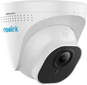 REOLINK PoE IP Camera Outdoor 5MP(2560x1920 at 30 FPS) HD Video Surveillance Work with Smart Home, 100ft IR Night Vision, Motion Detection, Up to 128GB Micro SD Card(Not Included), RLC-520