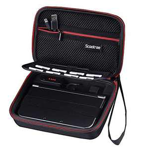 Scootree Carrying Case/Charging Case for Nintendo New 2DS XL, Nintendo New 3DS XL, 3DS