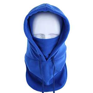 Koolip Balaclava Mask Scarf Neck Warmer - Thermal Full Face Covering/Winter Windproof Neck Gaiter with Drawstring/Hood Masks