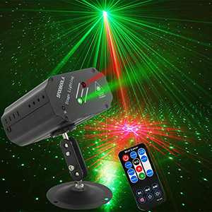 Party Lights DJ Lights,Disco Stage lights Sbolight Led Projector Strobe lights dj equipment for Stage Lighting with Remote Control for Dancing Christmas Gift Thanksgiving KTV Bar Birthday Outdoor