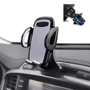 Crazefoto Car Phone Mount,CD Slot Car Phone Holder Universal Car Cradle Mount for iPhone12 Mini 11 Pro XR XS MAX X SE 8 7 6 Plus Galaxy S20 S20+ S10 S9 S8 Note10 Google( with Air Vent Mount)