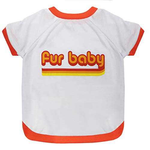 Dog TEE Shirt Licensed by LaurDIY - Fur Baby - LAURDIY Dog Shirt, Medium
