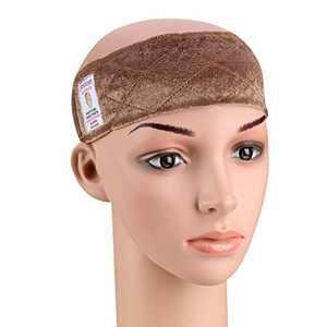 Deamlover Edge Saver Wig Headband, Brown Wig Grip Headband