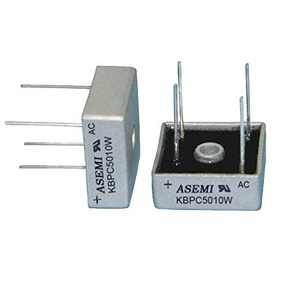 (Pack of 2pcs) ASEMI KBPC5010W Single Phase Bridge Rectifier Diode Metal Case for Air-Conditioner/Elevator…
