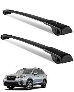 YITAMOTOR Roof Rack Cross Bars Compatible for 2014-2019 Subaru Forester / 2012-2019 Impreza with Side Rails, Rooftop Luggage Cargo Bag Carrier Crossbars Bike