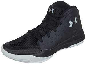 Under Armour Unisex-Youth Pre School 2019 Basketball Shoe, Black (001)/Black, 3
