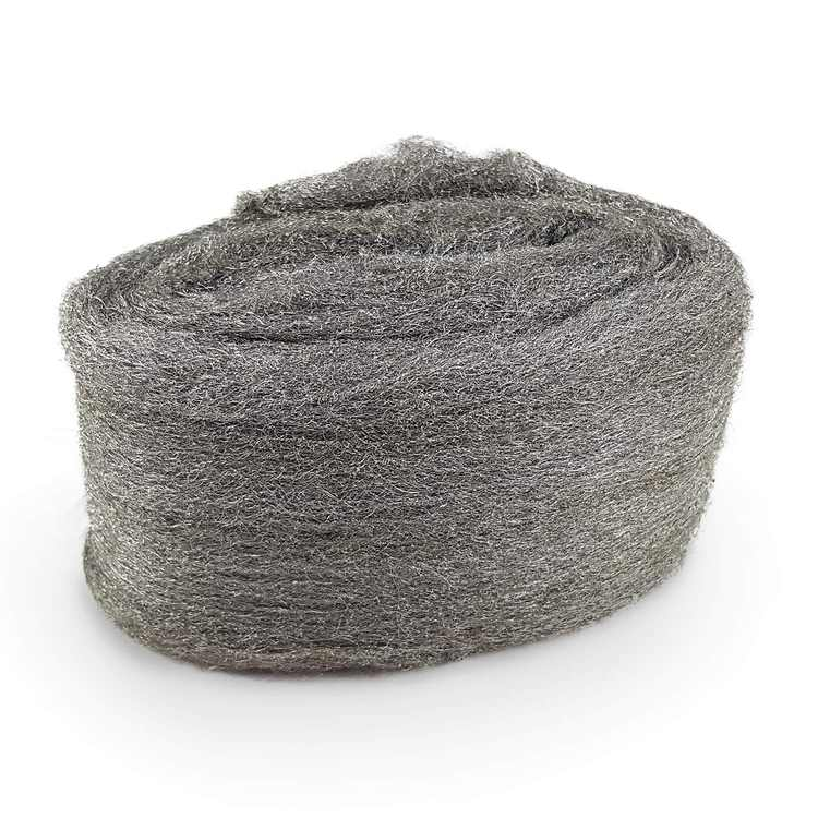 CZ Store Steel Wool -✮LIFETIME GUARANTEED✮|120 G| Grade 0000 Stainless Steel - Reusable & Scratchproof Fine Wire Iron Straw - Clean & Polish Wood, Glass, Metal, Bronze, Tile, Brass, Copper, Tin