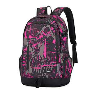 Rickyh style School Backpack Travel Bag for Men & Women, Lightweight College Back Pack with Laptop Compartment