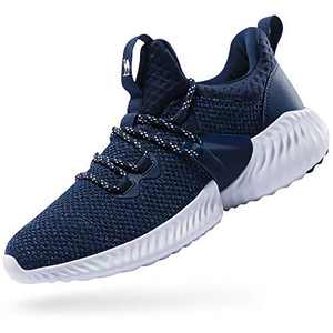 CAMEL CROWN Trail Running Shoes Non Slip Lightweight Casual Fashion Sneakers Sports Athletic Gym Walking Shoes for Men Blue 10.5D(M)
