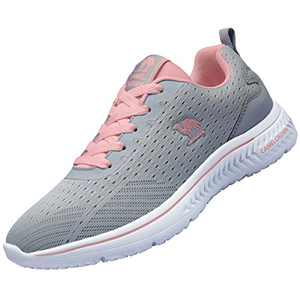 CAMEL CROWN Women Casual Fashion SneakersRunningShoes Lightweight Breathable Sport Athletic Walking Tennis Shoes Grey 9.5