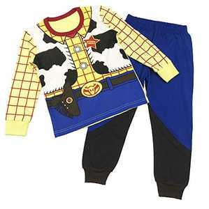 Boys Pajamas Set Printed Toddler Long Sleeve Cotton Outfits Sleepwear 2 Pcs 4-5T