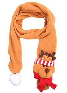 The B-Style TB Winter Warm Scarf Adults Holiday Gift Large Scarf Warm Neck Wrap (Brown Elk)