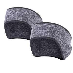 UHEREBUY Ear Warmer Headband - Winter Ear Covers Muffs Ski Headband Thermal Head Wrap Sweatband