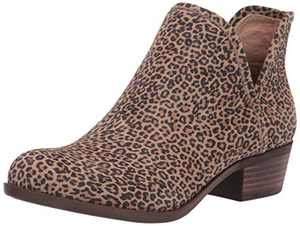 Lucky Brand womens Baley Ankle Boot, Eyelash, 8.5 US