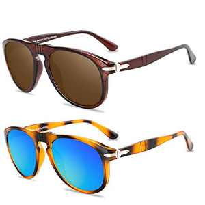 Flat Top Square Sunglasses for Women Men Frame Oversized Fashion Sunnies (Black Leopard)