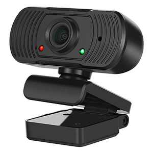 Streaming Webcam with Microphone for Desktop PC Laptop Mac Computer, Plug and Play USB Web Camera for Online Teaching Learning Class Video Meeting Calling Conferencing Cam