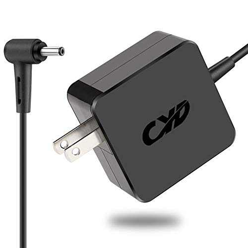 CYD 45W 19V 2.37A Powerfast-Replacement for Laptop-Charger Asus UX360C X553M Q302L Q504UA Q304U S200E X201E X202E X541NA X542UA X540S X540SA X541N Q200E C202SA C300SA E402WA Power-Adapter-Cord