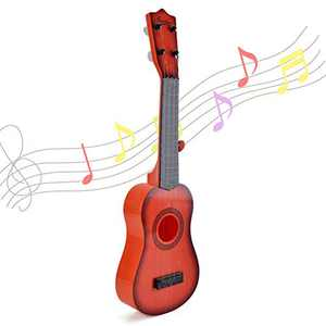 Happytime 21 Inch Kids Emulational Ukulele Musical Toys Kids Ukulele with 4 Strings Musical Instruments Educational Toys for Kids Children Adults