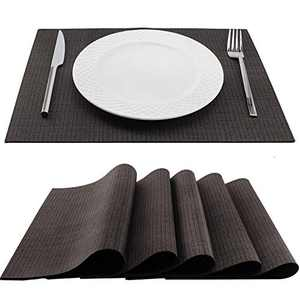 Trivetrunner:Decorative Modular Trivet Runner for Table 6 pcs Placemats Extendable Hot Pad, Heat-Resistant Surface,for Hot Plates, Pots, Dishes, Cookware for Kitchen (Warm Gray)