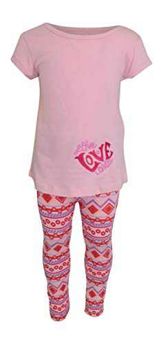 Unique Baby Girls Pink Tunic Love Valentine's Day Outfit (5)