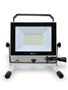 NextLED 10000LM 110W LED Work Light, IP 65 Water Proof Flood Light, 210 Ultra Bright LED Chips, 360 Degree Adjustable, 6000K Daylight White, Stand Light, Workshop, Construction, Garage, ETL Certified
