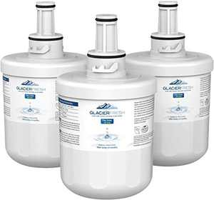 GLACIER FRESH DA29-00003G Water Filter Replacement for Samsung Refrigerator, NSF 42 Certified Cartridges Compatible with Samsung DA29 00003G, DA29-00003F, Aqua-Pure Plus DA29-00003B, HAFCU1(Pack of 3)