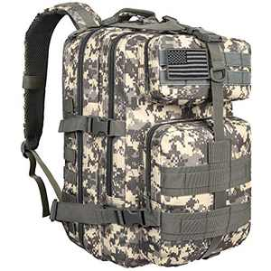NOOLA Military Tactical Backpack Large Army Assault Pack Molle Bag Rucksack ACU