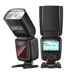 Neewer NW625 GN54 Speedlite Flash for Canon Nikon Panasonic Olympus Pentax Fujifilm DSLRs and Mirrorless Cameras and Sony with Mi Hot Shoe like a9 a7 a7II a7III a7R III a7RII a7SII a6000 a6300 a6500