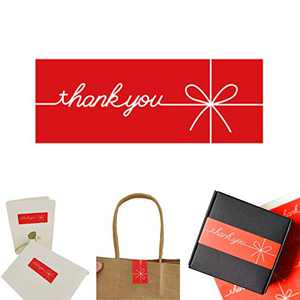 Thank You Stickers,Christmas Stickers for envelopes,Stickers Thank You,Small (300)